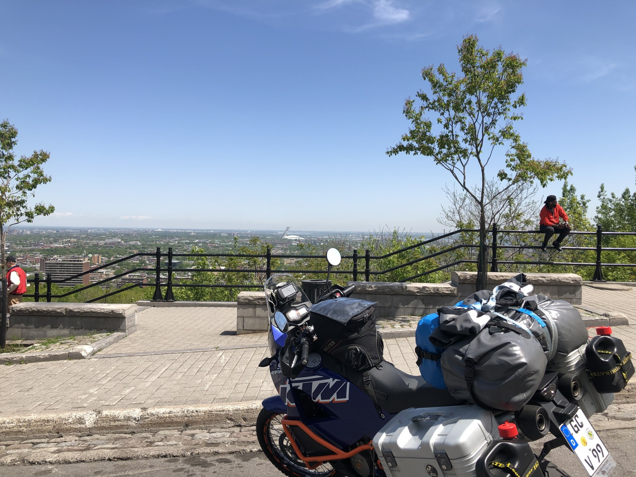 Blick über Montreal