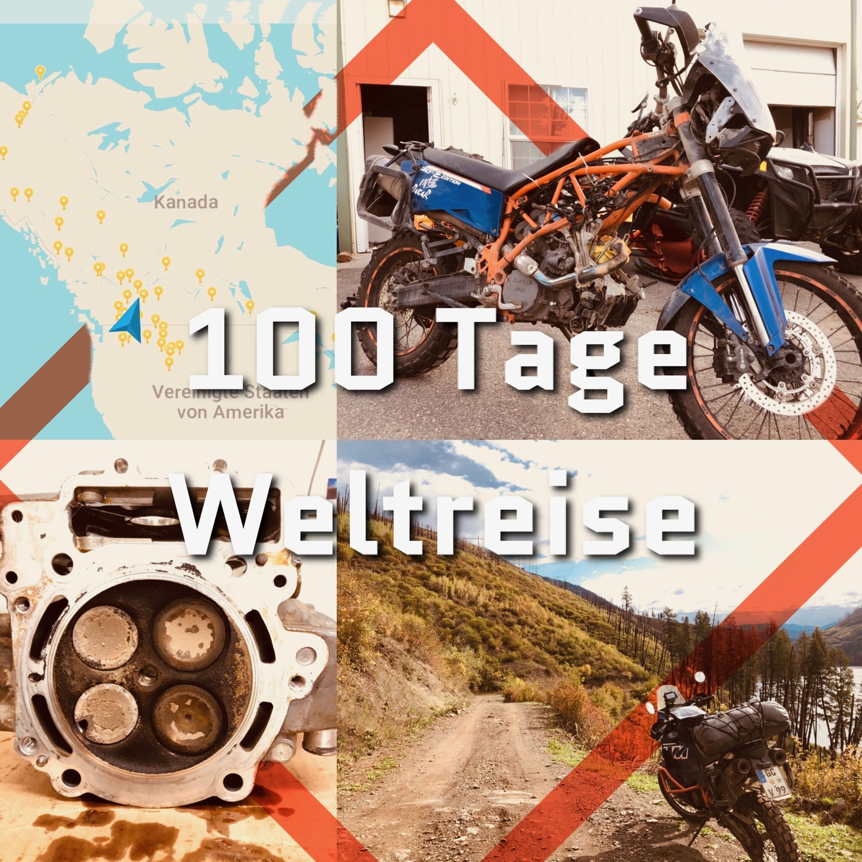 100 Tage Weltreise Titelbild