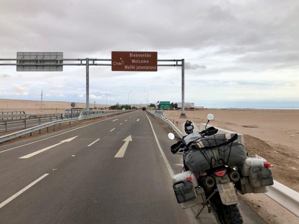 Grenzübergang Peru - Chile