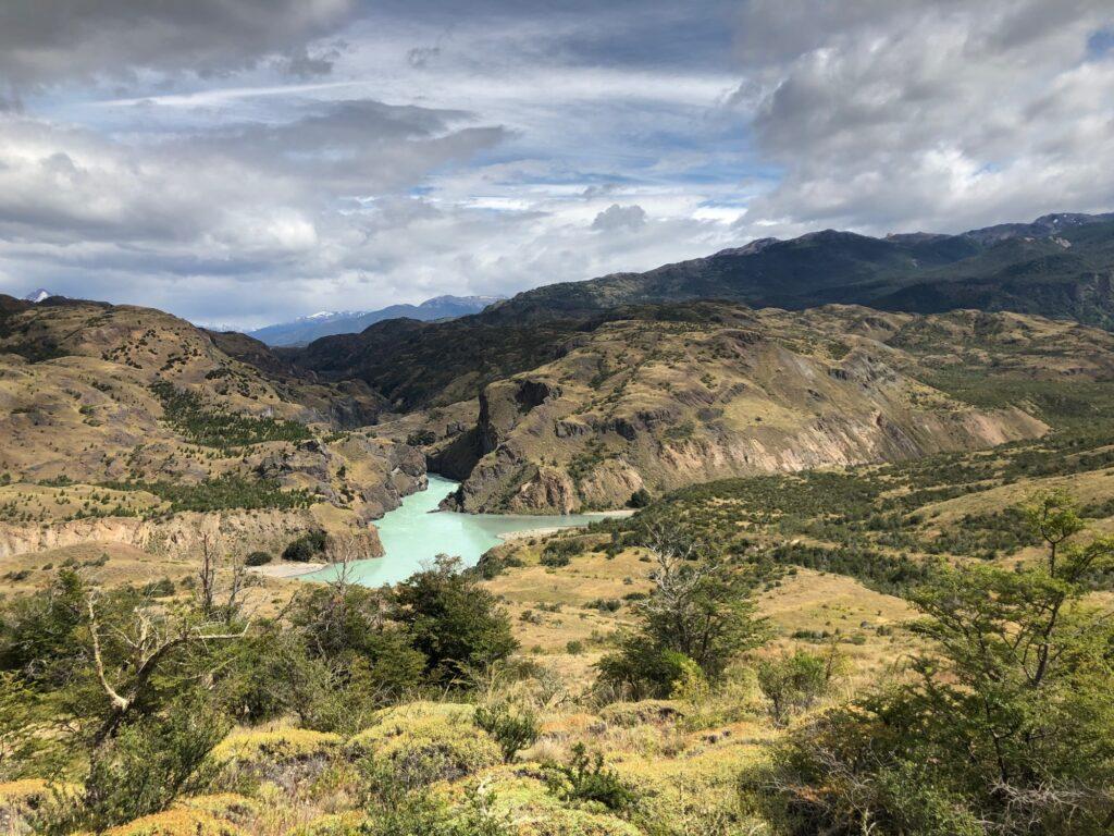 Zusammenfluss von Rio Baker und Chacabuco