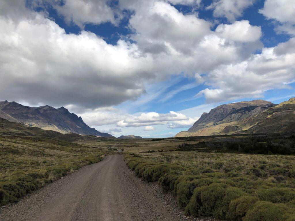 Piste durch den Patagonia Nationalpark