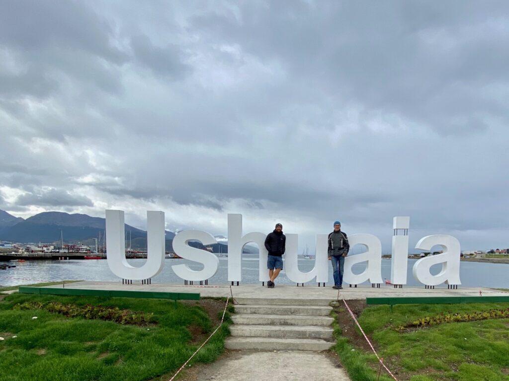 Mike und ich in Ushuaia