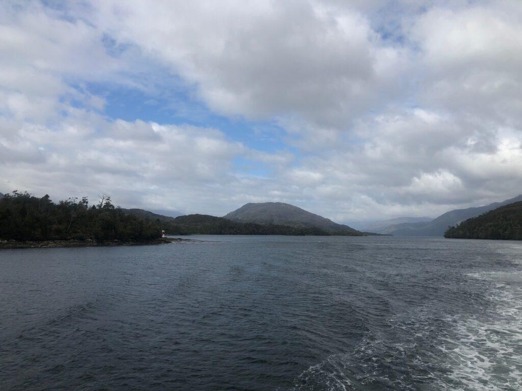 Insellandschaft in Patagonien, Chile